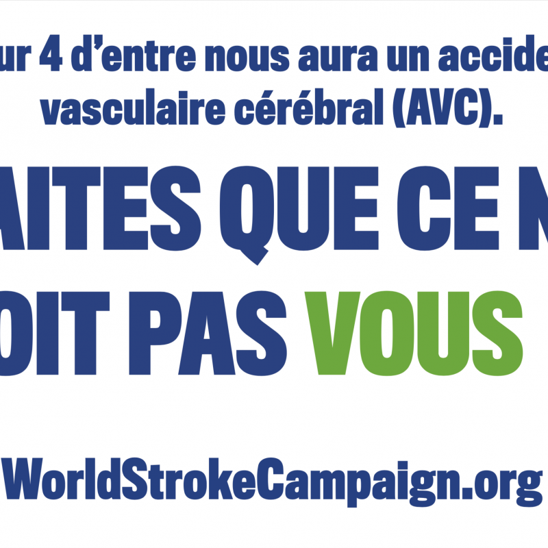 World Stroke Day Flag