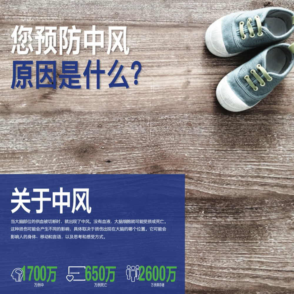 Chinese World Stroke Day brochure 2017