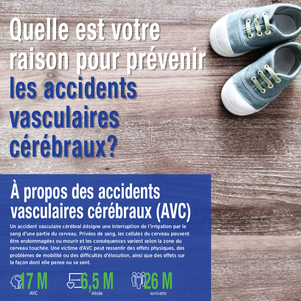 French World Stroke Day brochure 2017