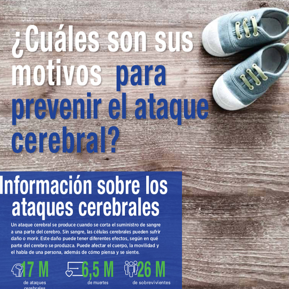 Spanish World Stroke Day brochure 2017