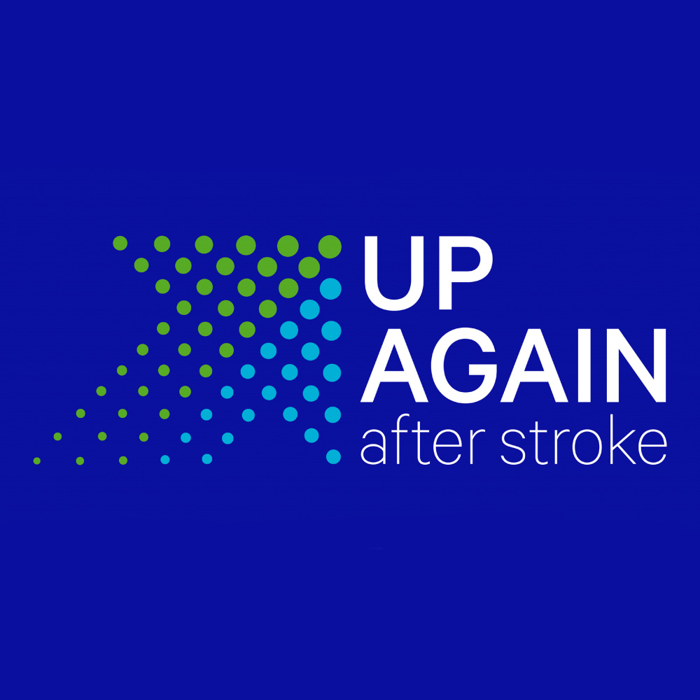 UP AGAIN after stroke - brand guidelines 2018